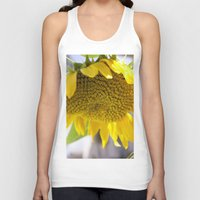 Take Cover [SUNFLOWER] Unisex Tank Top