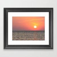 When Heaven Smiles Framed Art Print