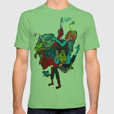 People and Generations  Mens Fitted Tee Grass SMALL