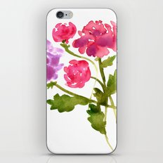 Floral No. 1 iPhone & iPod Skin