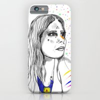 iPhone & iPod Case featuring Colored Imagination by Gabriela Von Gal