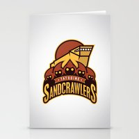 Tatooine SandCrawlers Stationery Cards