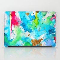 Le Aqua Et Passion iPad Case