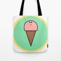 Ice cream (cone) Tote Bag