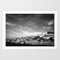 home, Porto Art Print