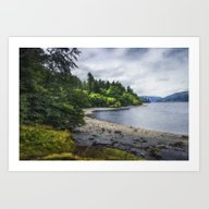 Art Print featuring Summer Lake Memories by Ian Mitchell