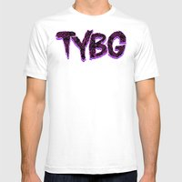 TYBG Mens Fitted Tee White SMALL