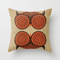 HOOT Throw Pillow