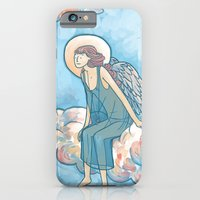 iPhone & iPod Case featuring Angel on a Cloud by Maria