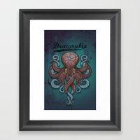 Dracorubio Dectapuss Cas… Framed Art Print