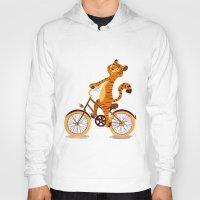 Tiger On The Bike Hoody