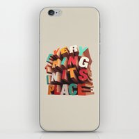 Everything In Its Place iPhone & iPod Skin