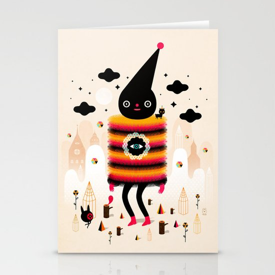 Mr. Wooly Stationery Card
