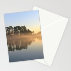Misty Lake in Color Stationery Cards