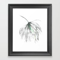 My Head Is A Jungle  Framed Art Print