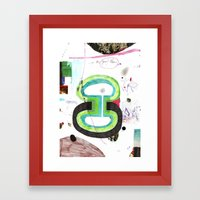 des6 Framed Art Print