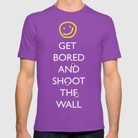 Smiley Target Mens Fitted Tee Ultraviolet SMALL