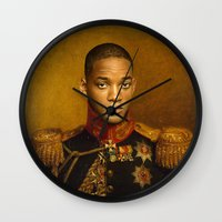 Will Smith - replaceface Wall Clock