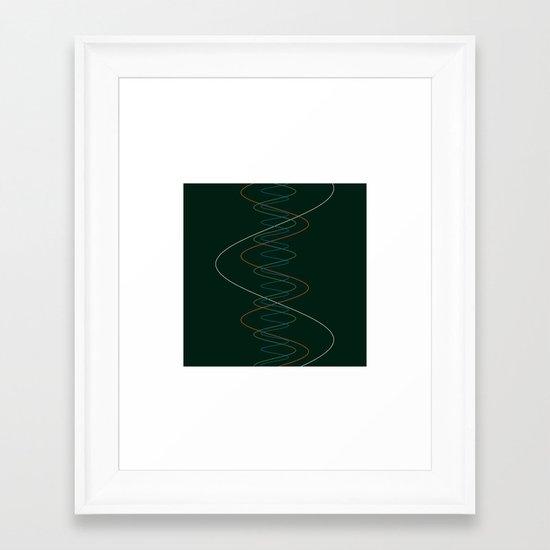 #166 Moons of Jupiter (movements) – Geometry Daily Framed Art Print