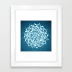 Zen Mandala (Serenity) Framed Art Print