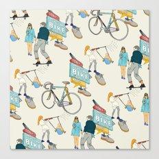 Tonys Bike Shop Canvas Print
