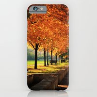 iPhone & iPod Case featuring Urban Fall by Wood-n-Images