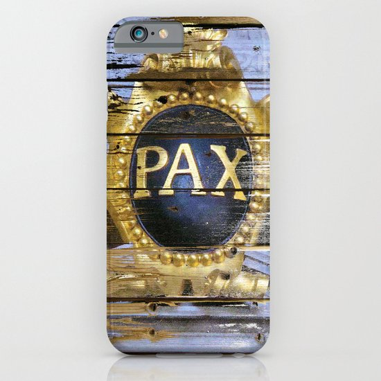 Planks for Peace iPhone & iPod Case