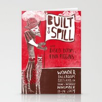 Built to Spill - Wonder Ballroom, Portland Stationery Cards