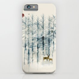 iPhone & iPod Case - the blue forest - bri.buckley