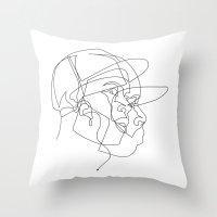 Dillas Throw Pillow