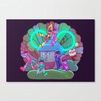 Osomatsu-san :: Electric… Canvas Print