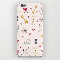 happy valentine iPhone & iPod Skin
