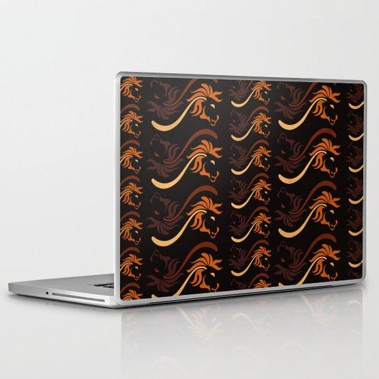 Lion Flower Laptop & iPad Skin