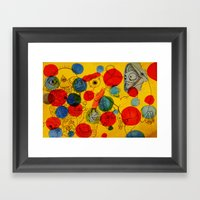 Seeing Spots Framed Art Print