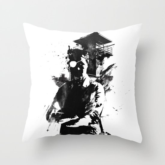 Once I was the govenor Throw Pillow