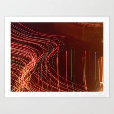 lights. lights. lights. Art Print