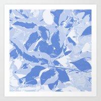 BlueMING Blue Art Print