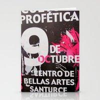 9 DE OCTUBRE Stationery Cards