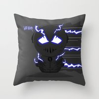 ChibizPop: Zoom, Zoom! Throw Pillow