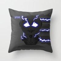 ChibizPop: Zoom, Zoom! Throw Pillow