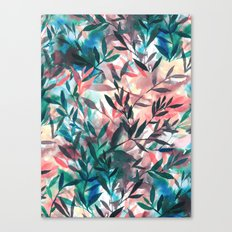 Changes Coral Canvas Print