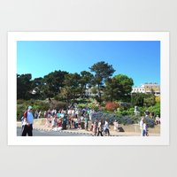 A Summers Day Art Print