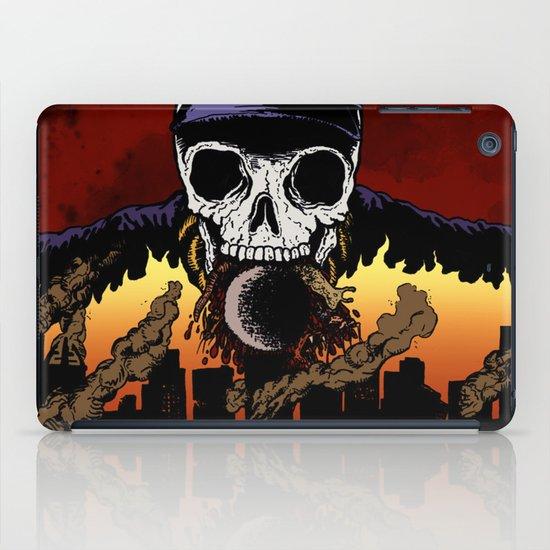 """Hip Hop Horror"" by Cap Blackard iPad Case"