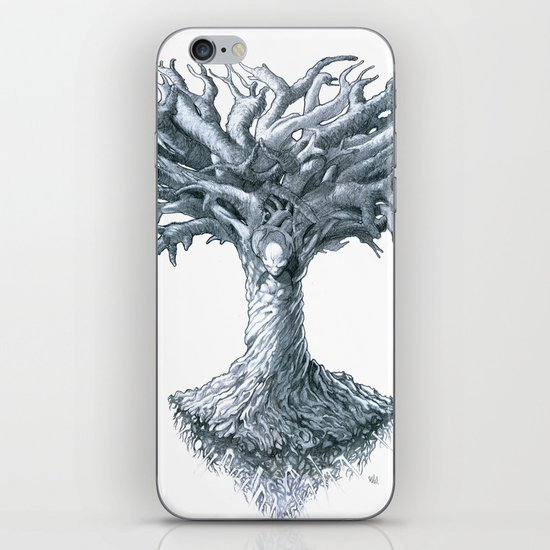 The Tree of Many Things iPhone & iPod Skin