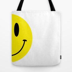 Half Smile (Left) Tote Bag