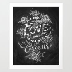 Harry Potter - The Ones … Art Print