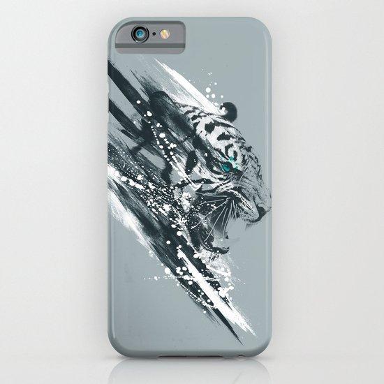 white tigra iPhone & iPod Case