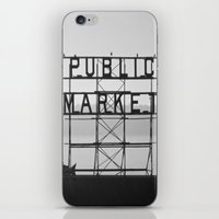 City Fish Market iPhone & iPod Skin