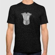 Cafecito Mens Fitted Tee Tri-Black SMALL