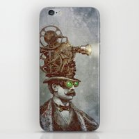 The Projectionist (colour option) iPhone & iPod Skin